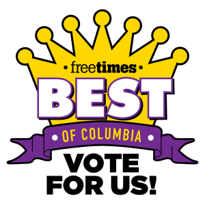 Columbia SC Best of 2020 Vote for Us logo